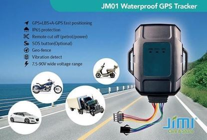MOTORCYCLE GPS TRACKER JM01 (NO CONTRACT)